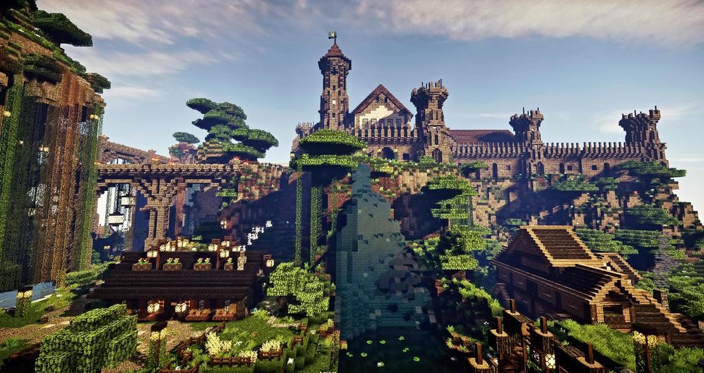 Medieval Buildings Minecraft Schematics