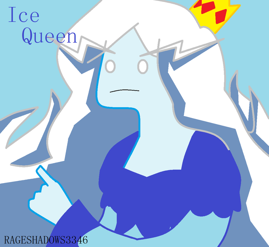 Ice Queen by RageShadows3346