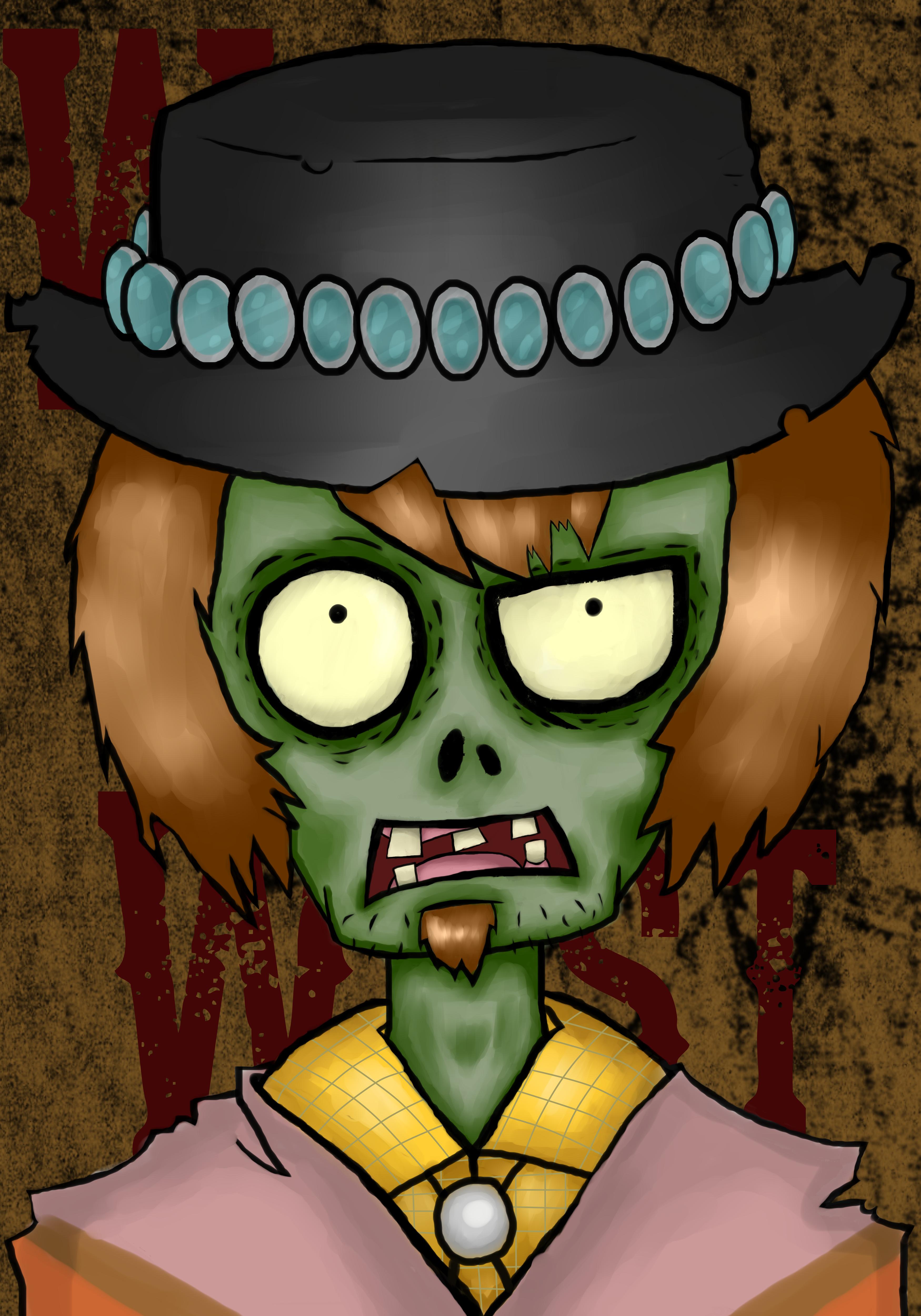 PvZ:The Poncho Zombie by RageShadows3346