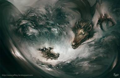 Curious Dragon by jeffreylai