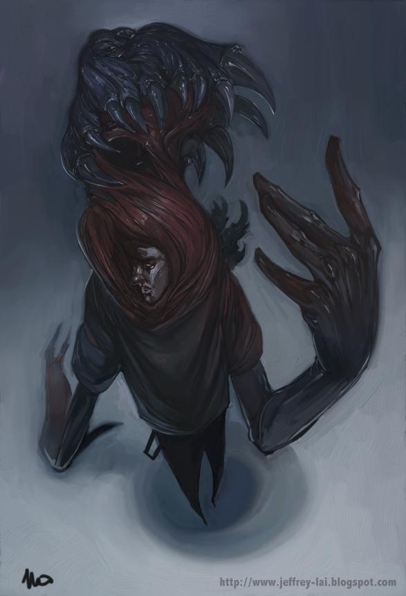 Zombie Parasite by jeffreylai