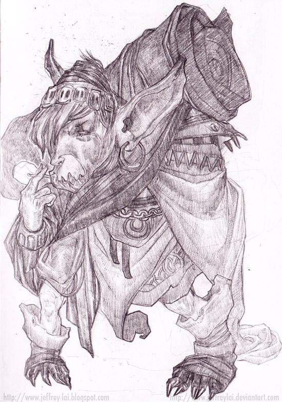 Traveller goblin by jeffreylai