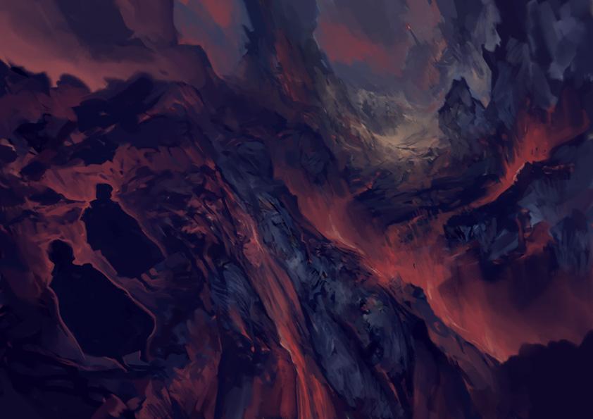 Mordor by jeffreylai