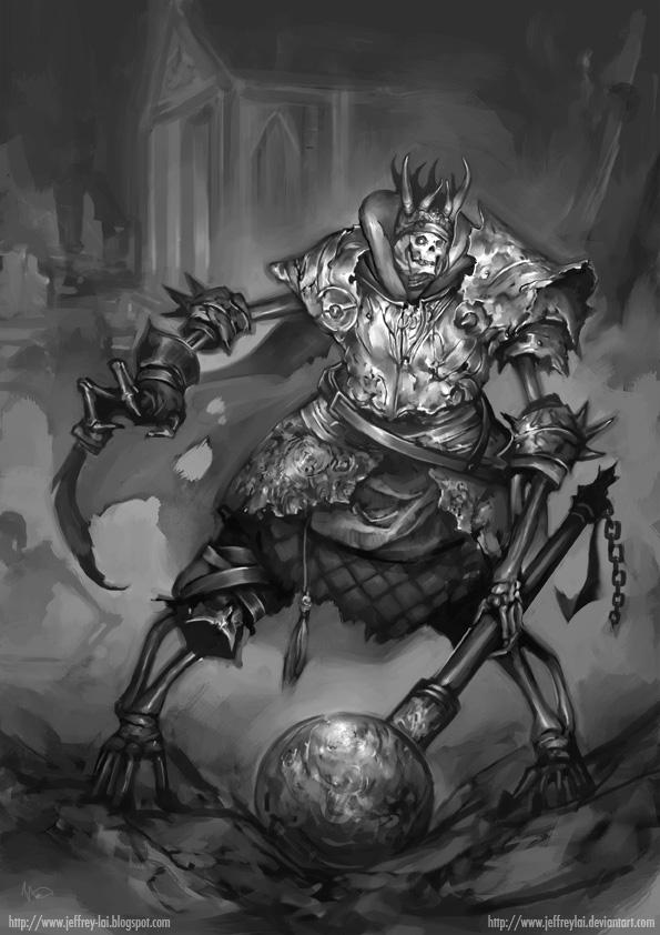 Skeleton King by jeffreylai