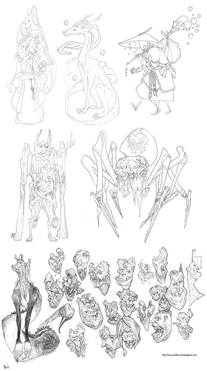 Sketchbook 23 by jeffreylai