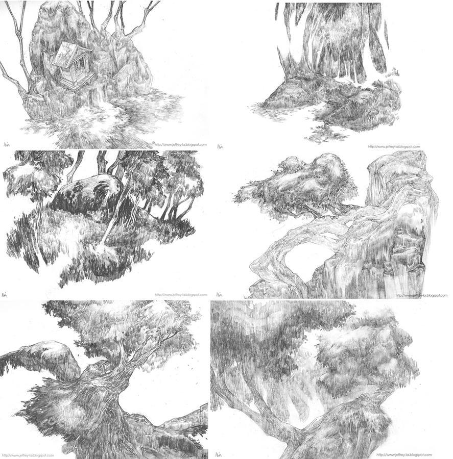 Trees by jeffreylai