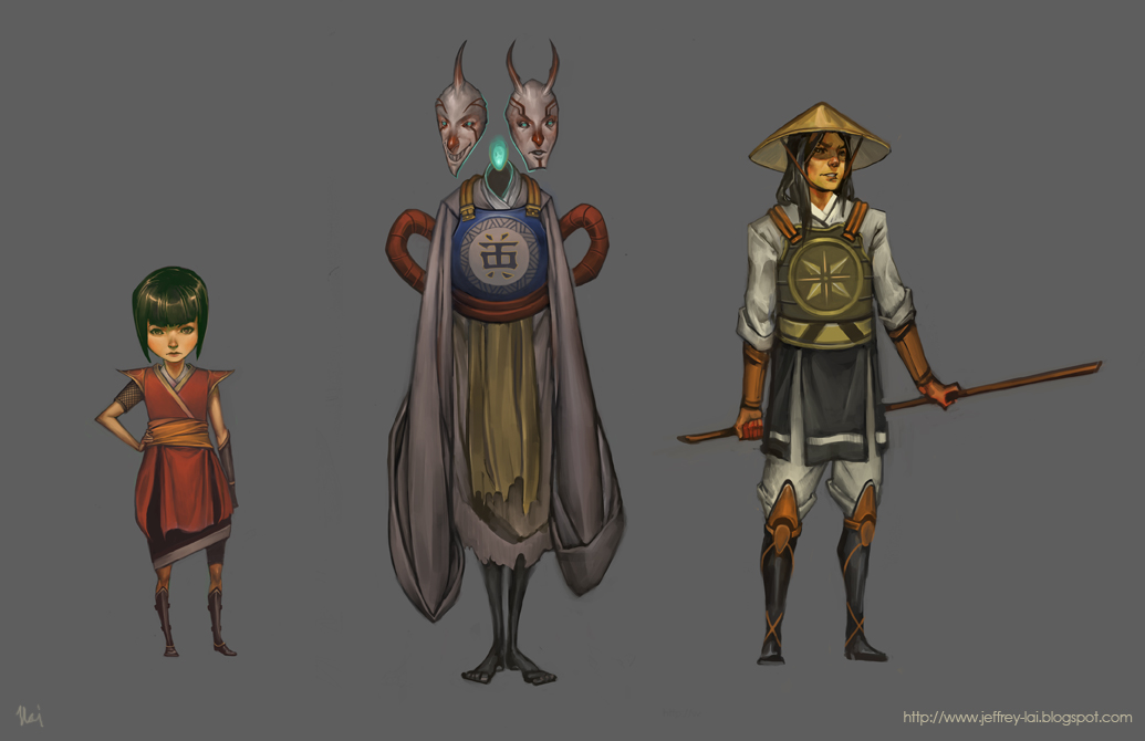 Characters by jeffreylai