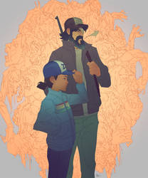 The Walking Dead by jeffreylai