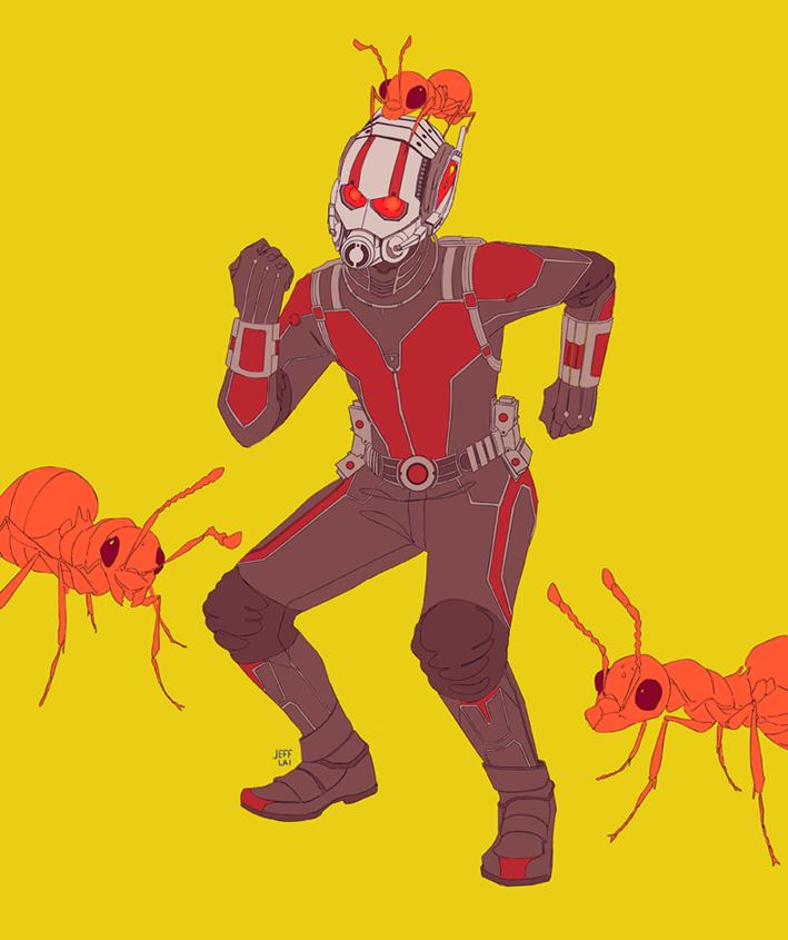 Antman by jeffreylai