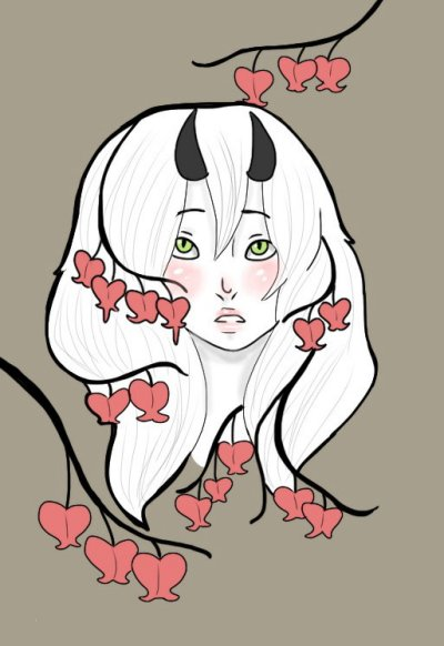Bleeding Heart Monster by AskGrendella