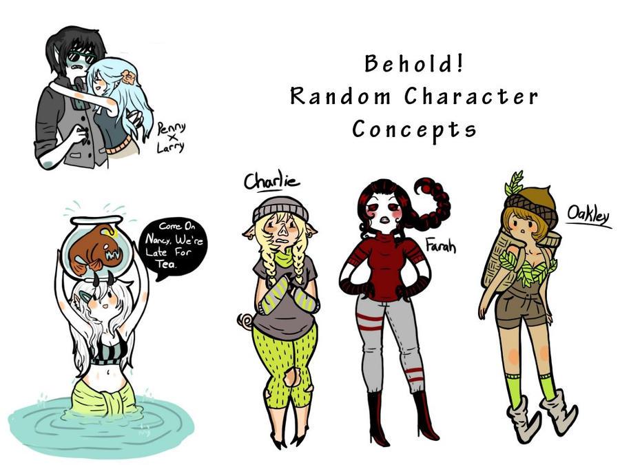 Doodles Galore by AskGrendella