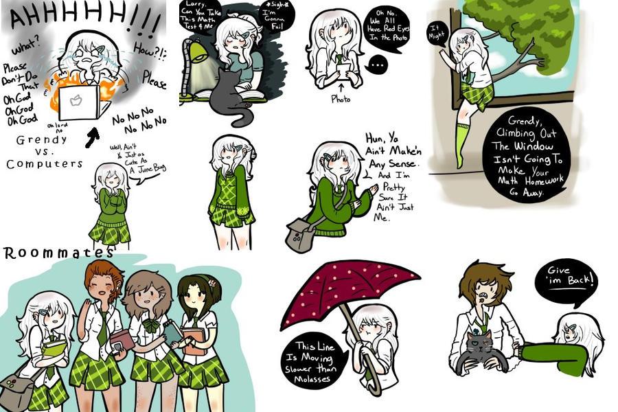 AU Doodles 2 by AskGrendella