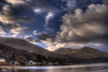 Arrochar Village, Loch Long
