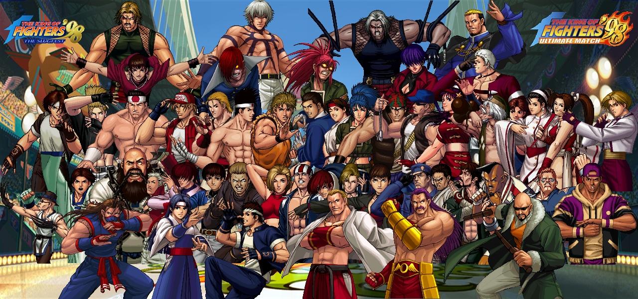 Kof 98 Ultimate Match Wallpaper By Yoink13 On Deviantart