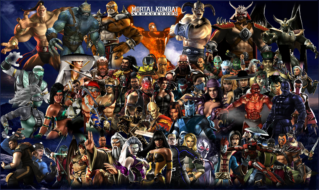 Mortal Kombat Armageddon Kustom Wallpaper By Yoink13 On Deviantart