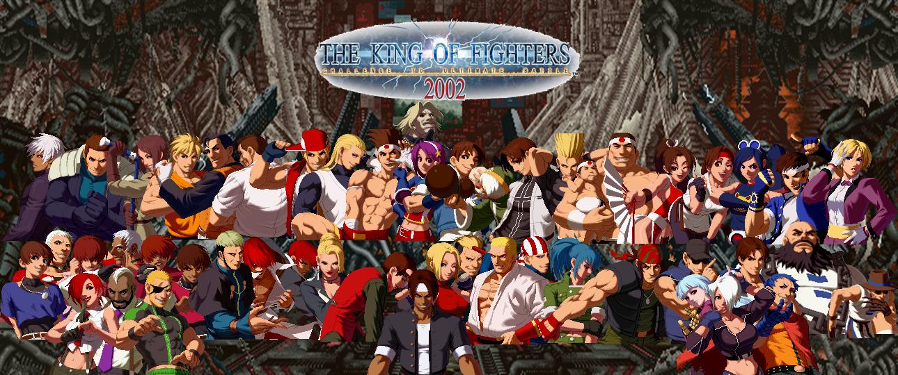 King Of Fighters 2002 Custom Wallpaper By Yoink13 On Deviantart