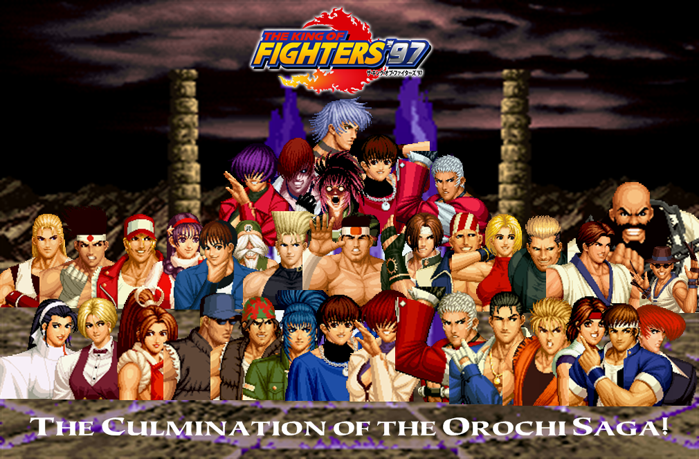 The King Of Fighters 97 Custom Wallpaper By Yoink13 On Deviantart