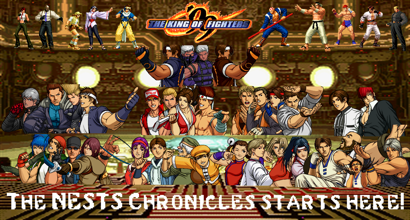 The King Of Fighters 99 Custom Wallpaper By Yoink13 On Deviantart