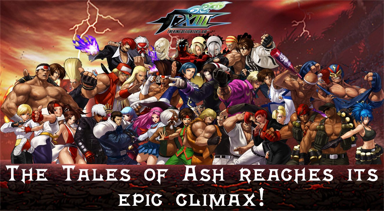 The King Of Fighters Xiii Custom Wallpaper By Yoink13 On Deviantart