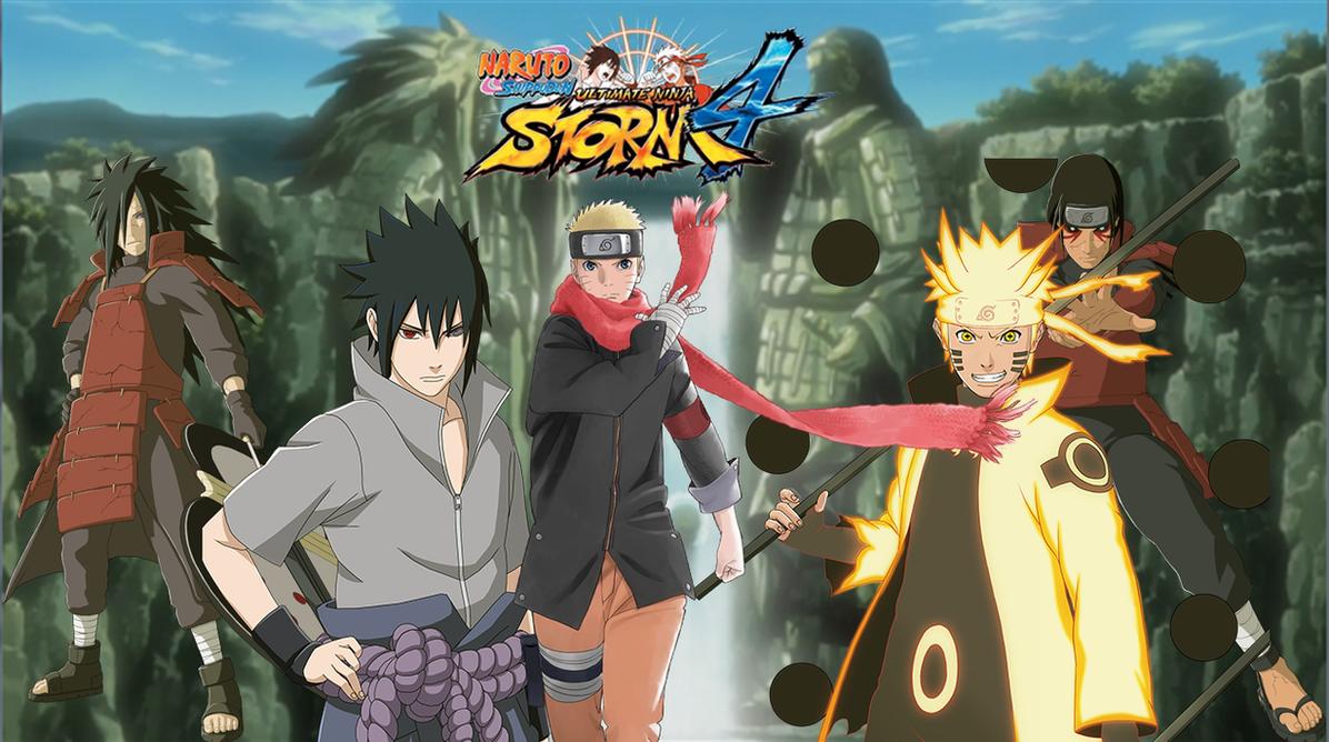 Video Game - Naruto Shippuden: Ultimate Ninja Storm 4 Kakashi Hatake Obito  Uchiha Wallpaper