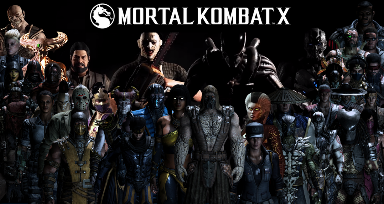 Mortal Kombat Xl Wallpaper: Mortal Kombat XL Komplete Roster Wallpaper By Yoink13 On