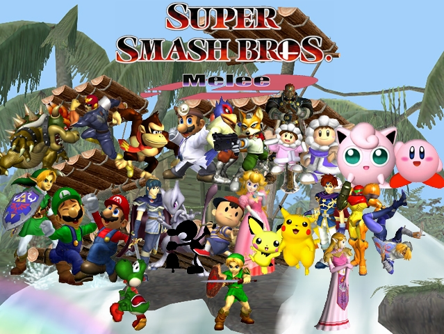 Super Smash Bros Melee Wallpaper By Yoink13