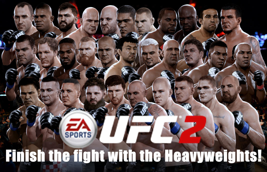 Ea sports ufc 2 heavyweights wallpaper by yoink13 on deviantart ea sports ufc 2 heavyweights wallpaper by yoink13 voltagebd Image collections