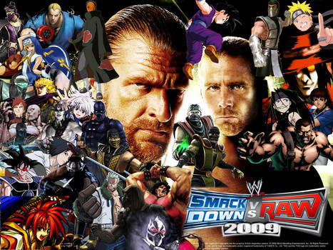 WWE SmackDown vs. RAW 2009 Special Roster