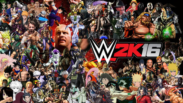 WWE 2K16 Special Roster