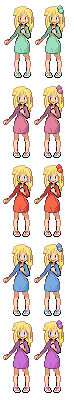 Pokemon Trainer Sprite 5