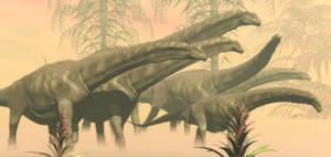 Argentinosaurus Family Herd