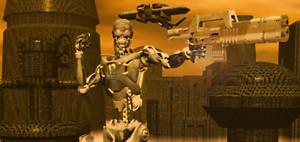 Cyborg Horror Of The Planet HD996734