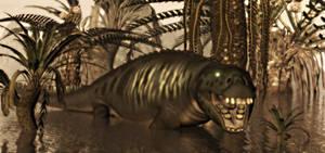 Placoderm Monster Legend Of Sydney Island