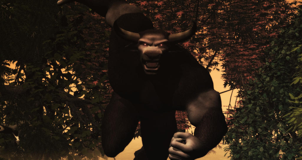 the legend of the minotaur In greek mythology, the minotaur was a monster with the body of a man and the  head and tail of a bull the minotaur was the offspring of the cretan queen.