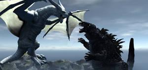 Godzilla Vs Roconax