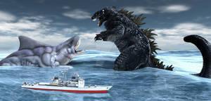 Godzilla Vs King Cartuskadon