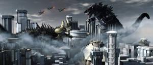 Godzilla Vs Tricentor