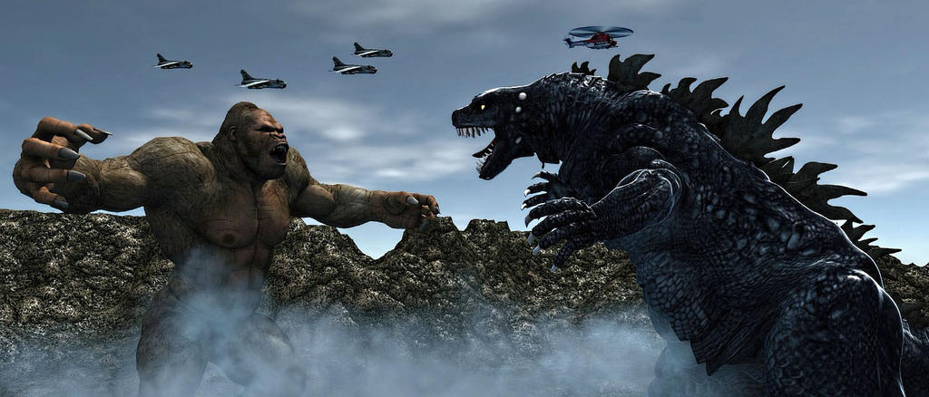 Godzilla Vs King Kong The Second Monster Challenge by ...