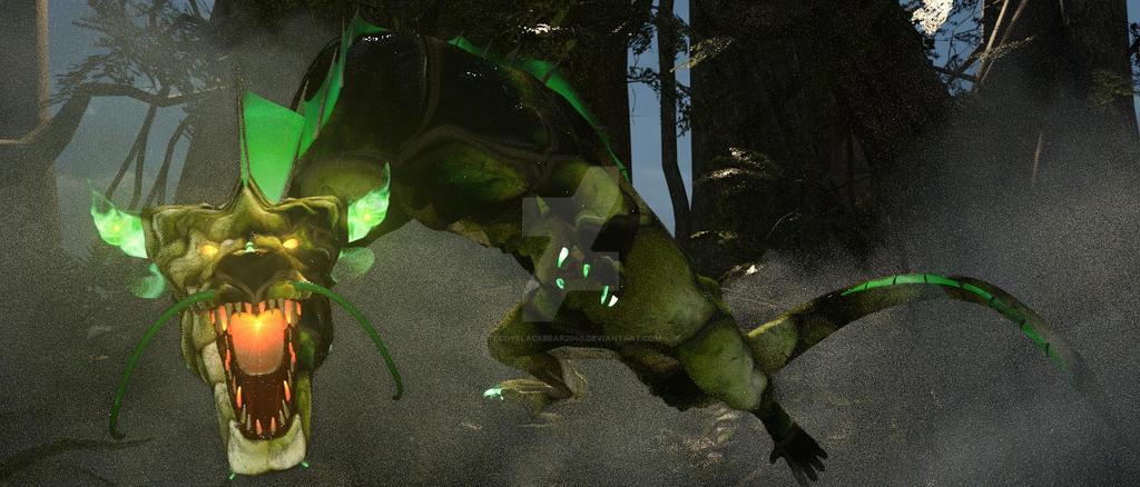 Jazui-Kou-Zo Forest Legend. by TeddyBlackBear2040