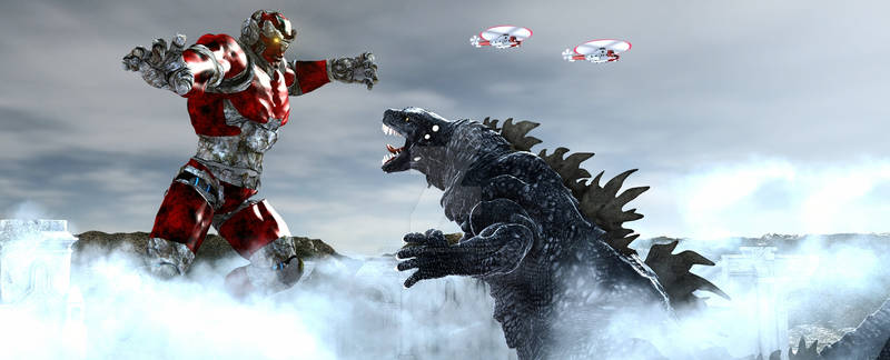Godzilla Vs The Colossus of Mu