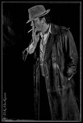 Gumshoe Detective by d-k-mackinnon