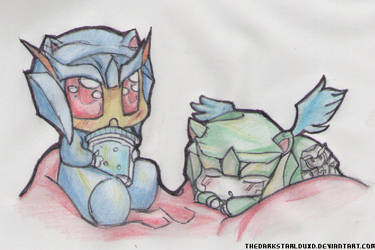 little skyquake and dreadwing _(kitty and angel p) by TheDarkstarlduxd