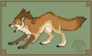 Burd-dog Bark by KatieHofgard