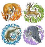 Elemental Animals