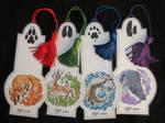 Elemental Animal Bookmarks