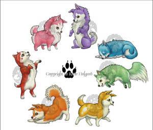 Canine Colors Set