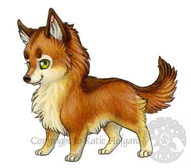Tiny Wolf Nymph by KatieHofgard