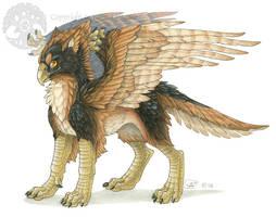 Griffon - Avian Companion by KatieHofgard