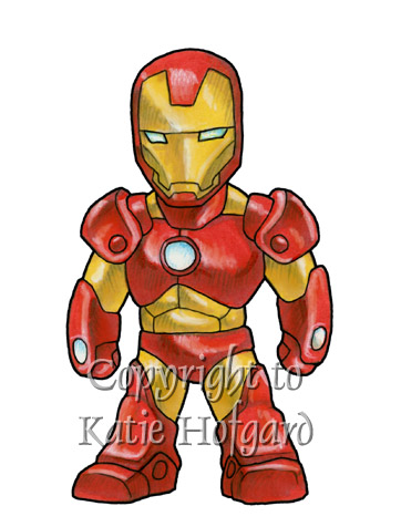 Iron Man Cartoon Characters