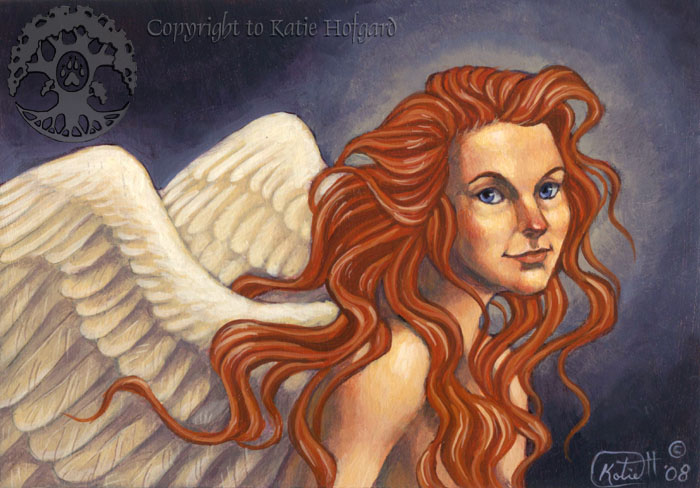 Red Haired Angel by KatieHofgard on DeviantArt